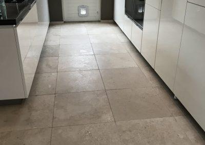 Kalksteen reinigen en impregneren