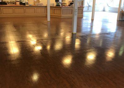 PVC vloer coating aanbrengen