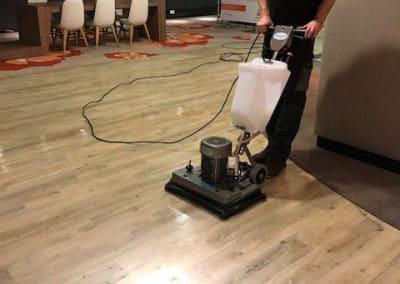 Vloer onderhoud PVC vloer