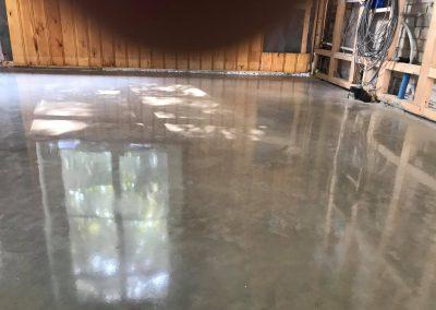Betonvloer glimt als een spiegel in Veere