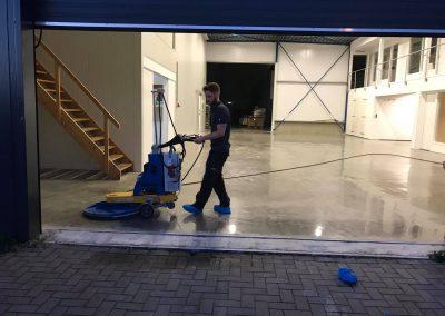 Betonvloer polijsten in 's-Gravenpolder Stofvrij en Vlekbestendig