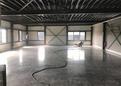 Prachtige gepolijste betonvloer