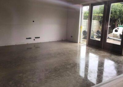 betonvloer afgewerkt in Heinkenszand