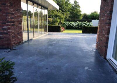 Schade herstel betonnen buitenterras Hendrik-Ido-Ambacht